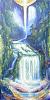 Golden- blauer Wasserfall